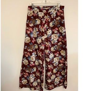 Floral, Flowy Pants